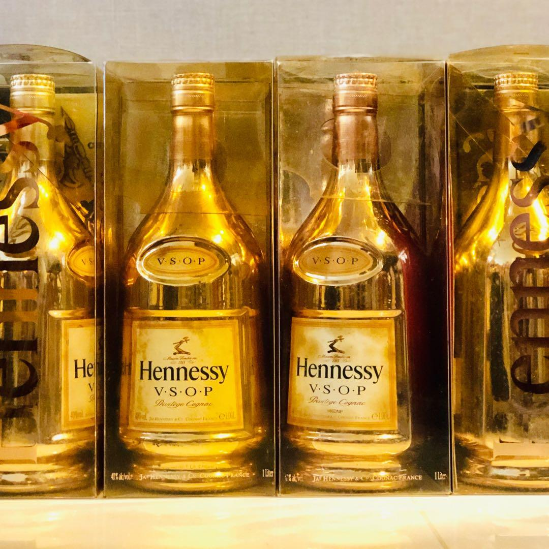 1l Hennessy Vsop Limited Edition Gold Bottle With Box Food Drinks Beverages On Carousell