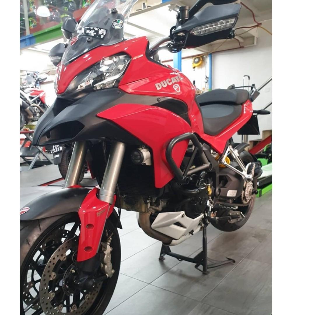 2014 Ducati Multistrada 1200S Touring