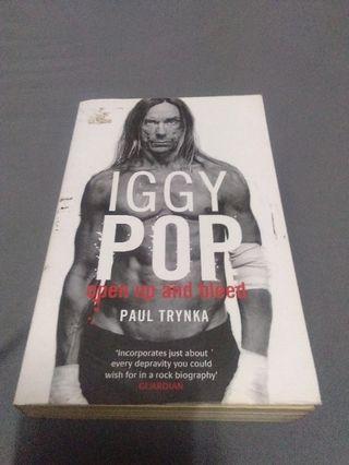 IGGY POP book punk hardcore