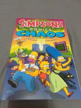 The Simpsons comics book futurama family guy