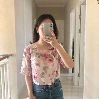 H&M flower top