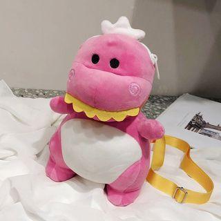 Little pink dinasour bag