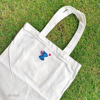 [Ready Stock] Stitch Tote Bag