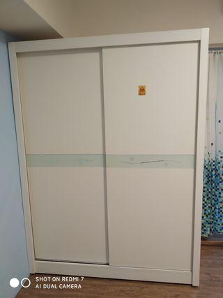 衣櫃 双門 二手 台北市自取深60 高200 宽150