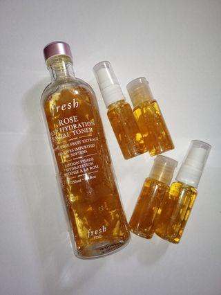 FRESH rose toner trial pack 20ml