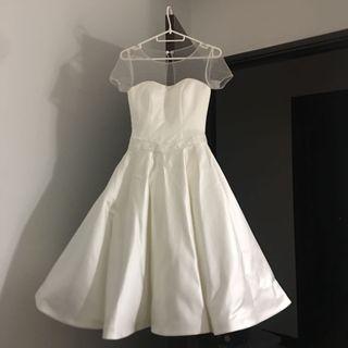 White Bridesmaid Dress