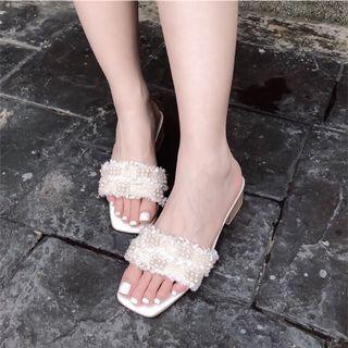 白拖鞋38號