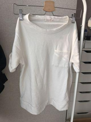 Kaos putih polos