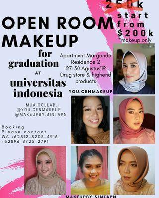 Makeup Wisuda UI depok