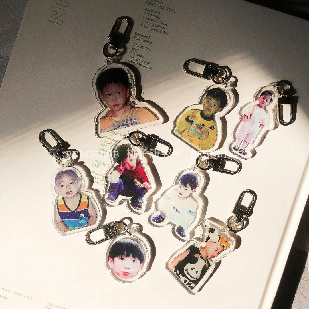 PO ] BTS BABY KEYCHAINS, Entertainment, K-Wave on Carousell