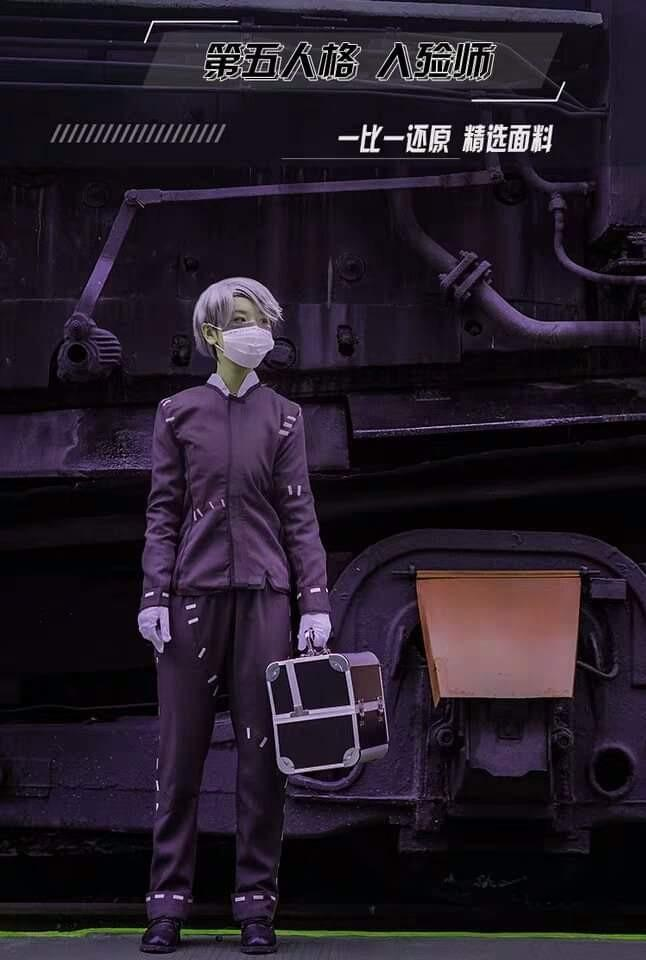 💼AESOP IDENTITY V GAME COSPLAY INCLUDES FACEMASK AND GLOVE💼