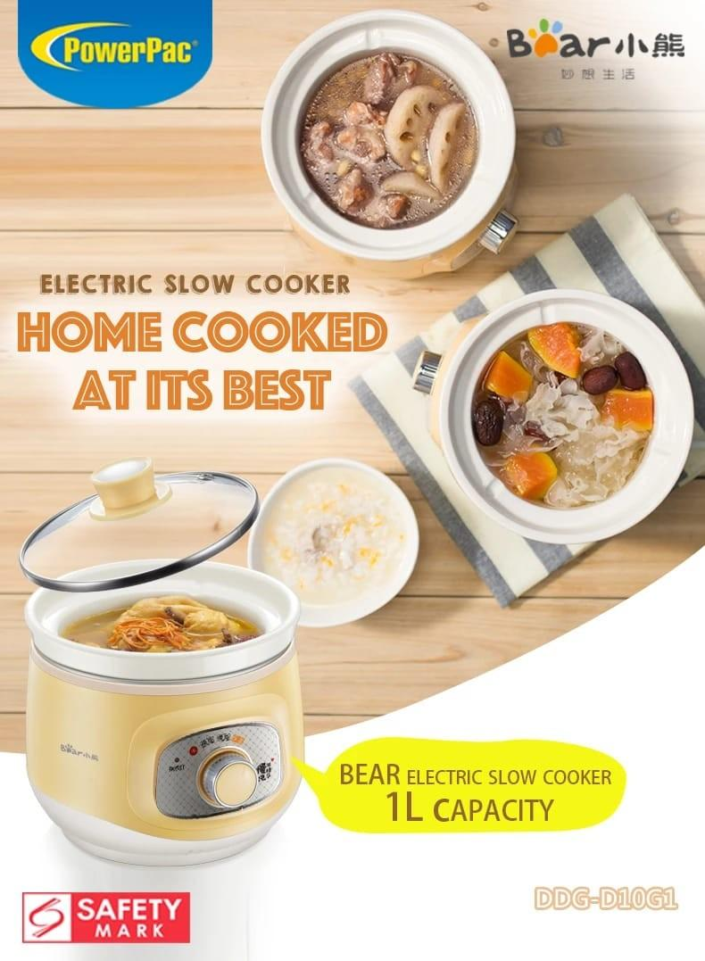 Bear Slow Cooker Only used Once!
