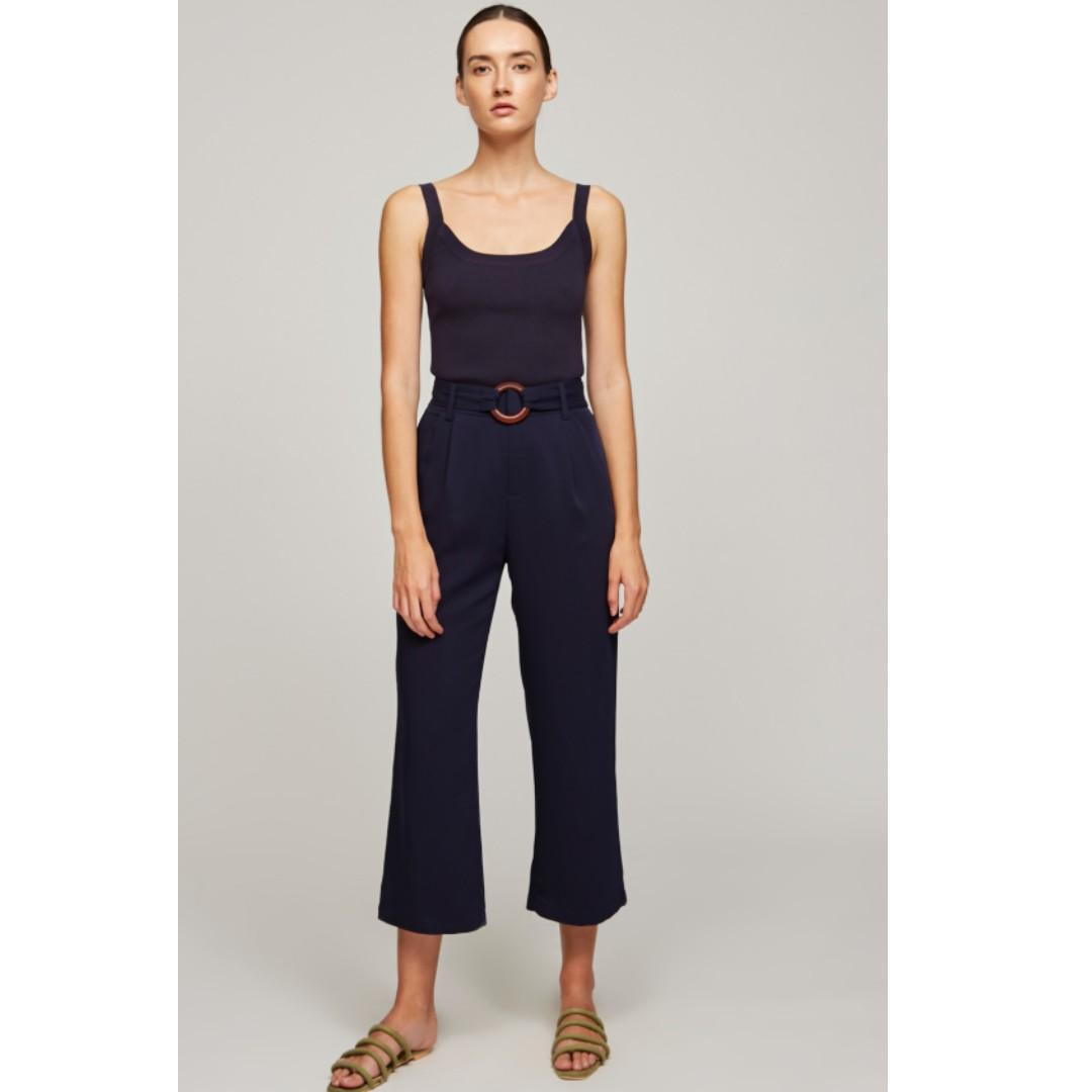 BNWT OSN High-Waisted Belted Pants