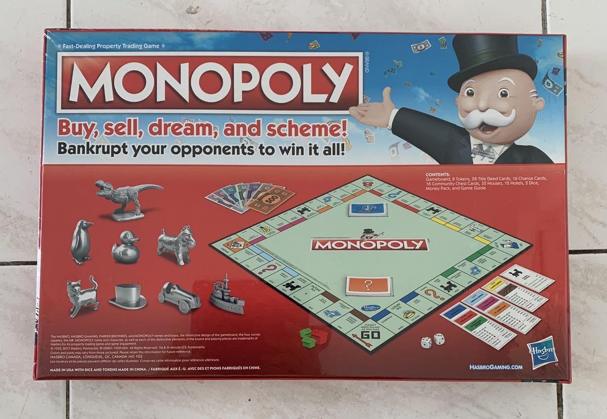 Brand-new Monopoly