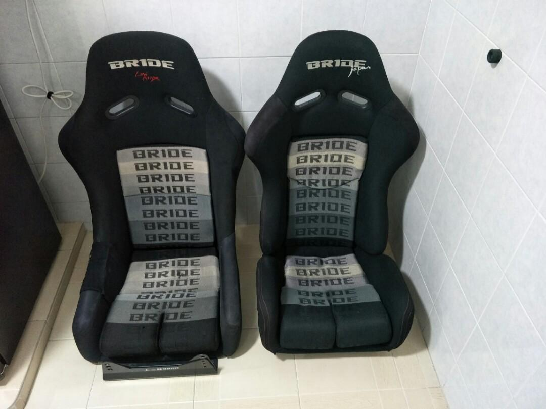 BRIDE Bucket seat full & semi