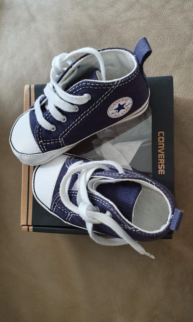 Converse pre walker shoes (navy color