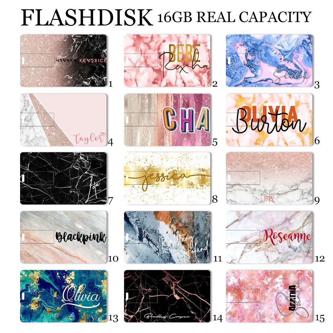 CUSTOM USB CARD marble
