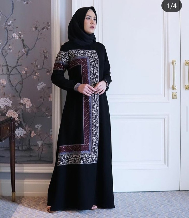 Gamis Javina Fesyen Wanita Pakaian Wanita Gaun Rok Di Carousell