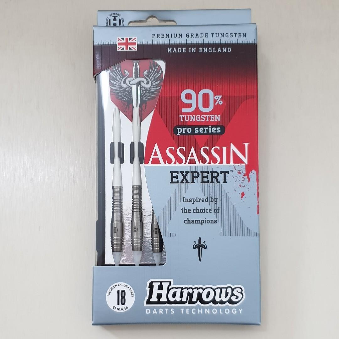 *BRAND NEW* HARROWS HEAVY OR MEDIUM PACK OF 3 PRO BRASS PLATED DARTS