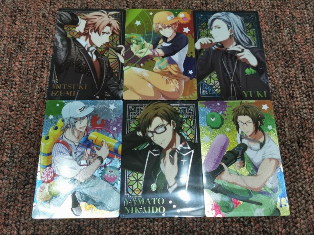 Idolish7 Wafer Cards Tamaki Gaku Mitsuki Yamato Nagi  Yuki