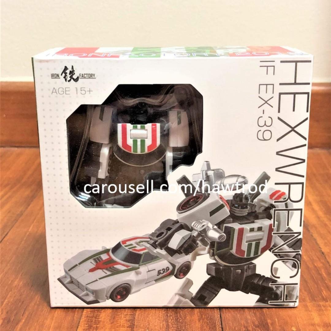 New Iron Factory Transformers IF EX-39 Hexwrench Wheeljack Figure In Stock