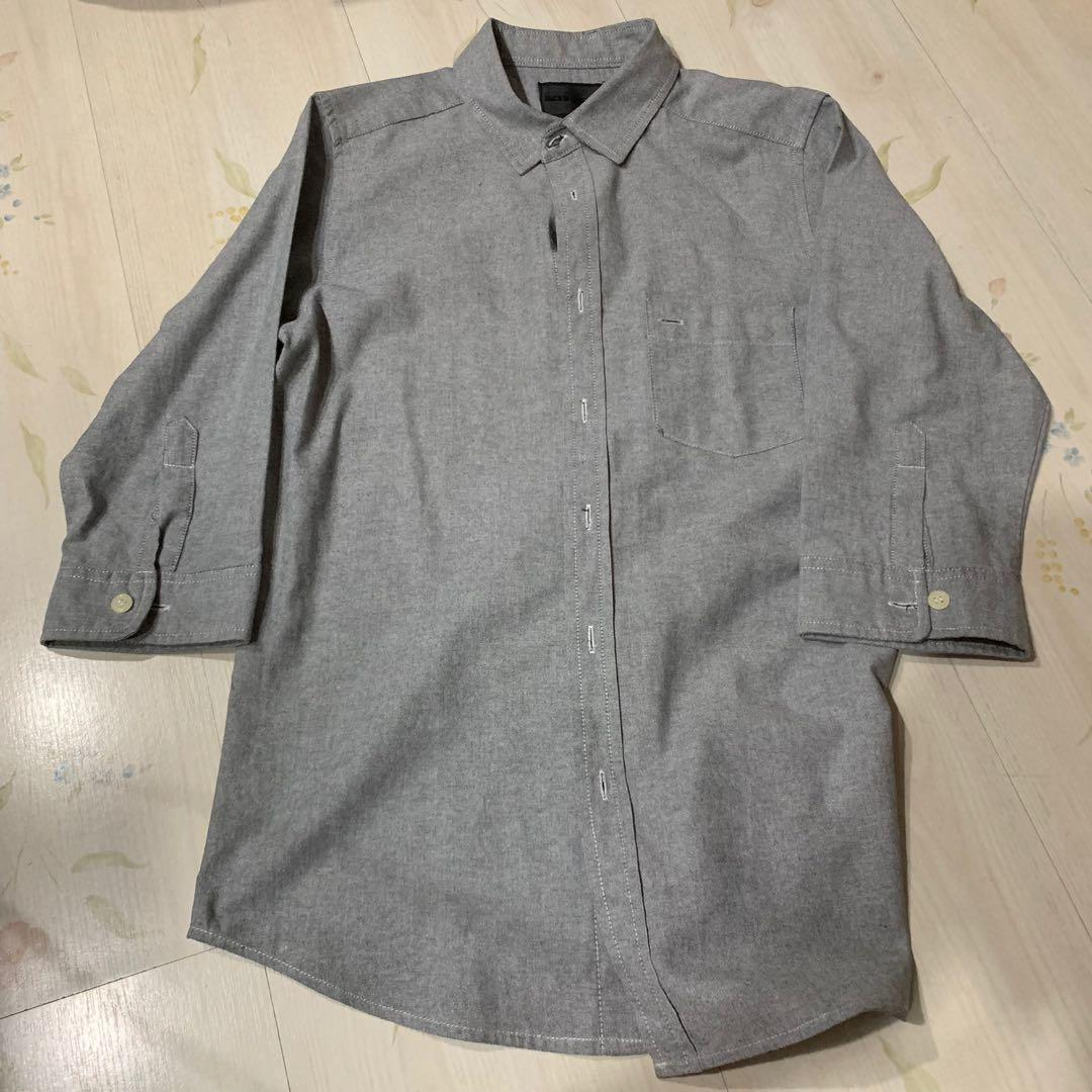Jack in the box Grey Button Up Shirt