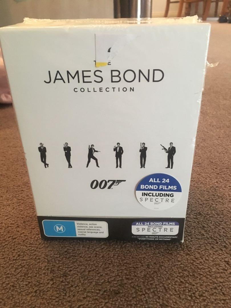 James Bond collection  - brand new still sealed in package
