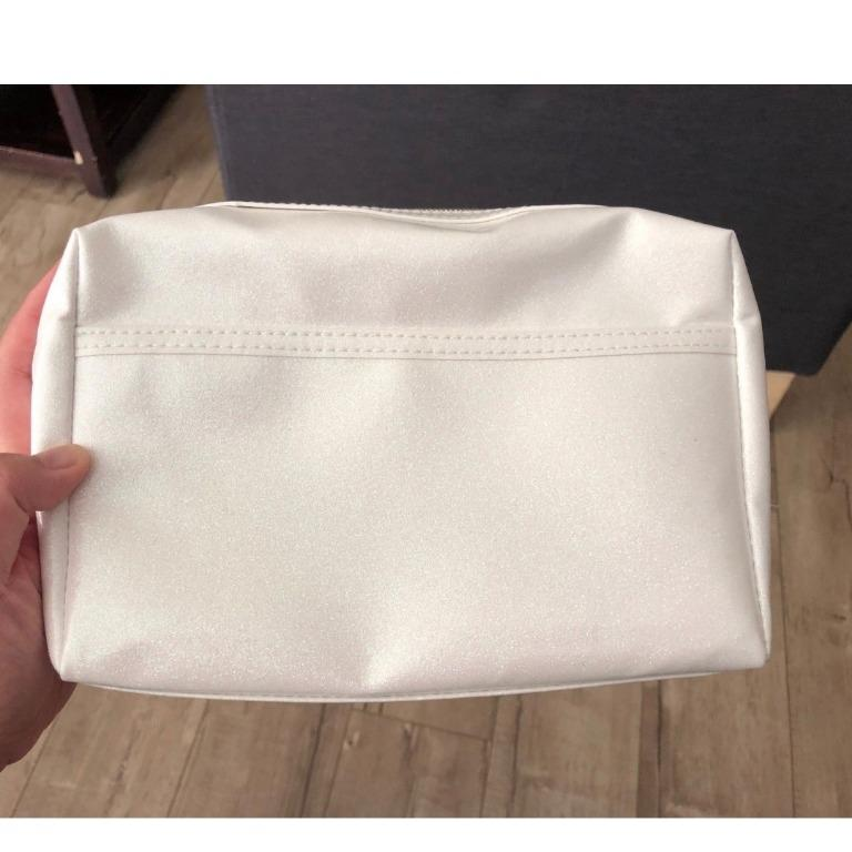JEFFREE STAR HOLOGRAPHIC WHITE MAKEUP BAG BRAND NEW & AUTHENTIC [PRICE IS FIRM, NO SWAPS]
