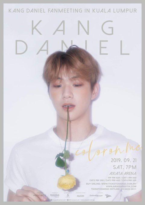 KANG DANIEL fanmeeting  in Malaysia ticketing service
