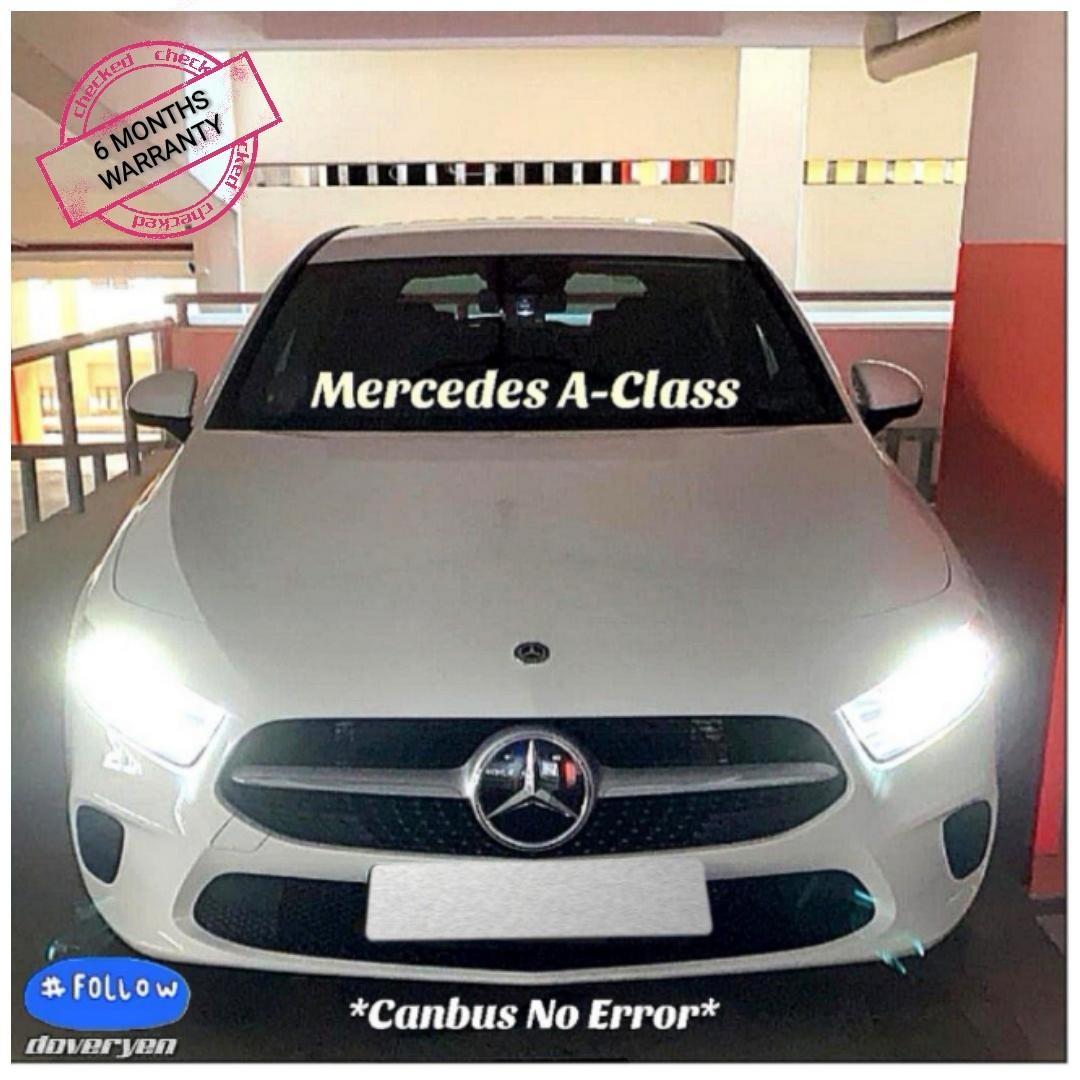 Mercedes Benz A Class W168 W169 W176 W177 - H7 6500k Canbus