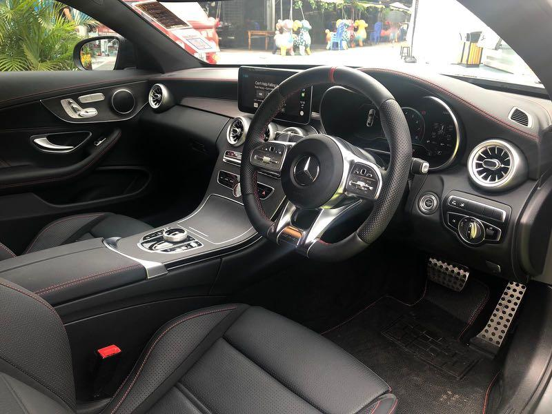 MERCEDES-BENZ C43 AMG Coupe 2018