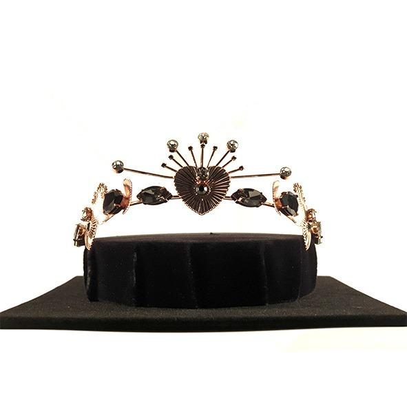 Mimco Handcrafted Tiara (Rose Gold)