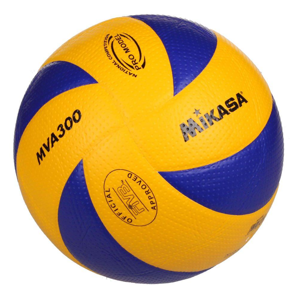 Brand New Mva 300 Mikasa Volleyball Sports Sports Games Equipment On Carousell