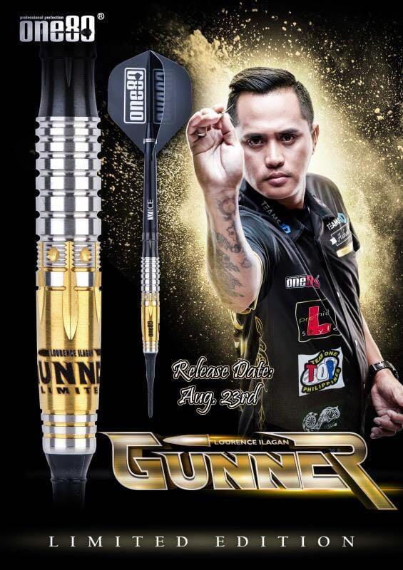 One80 Gunner Limited Edition • SGDARTS