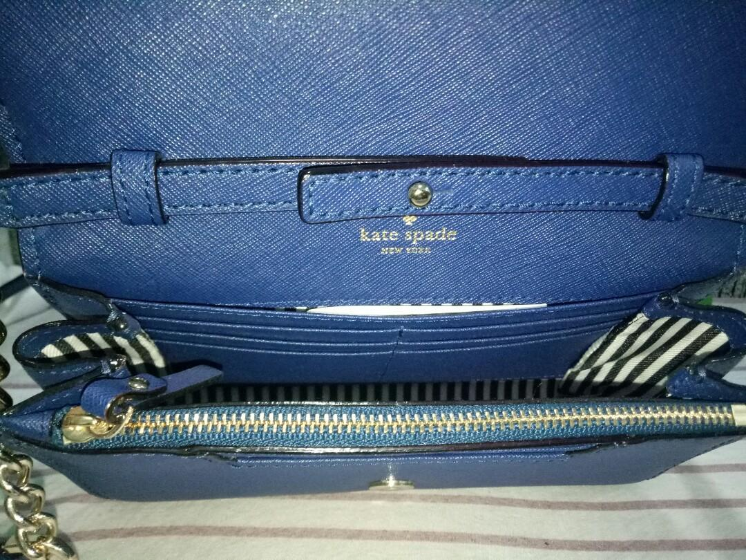 Original Kate Spade Cameron Street Shreya Crossbag - Dark Blue