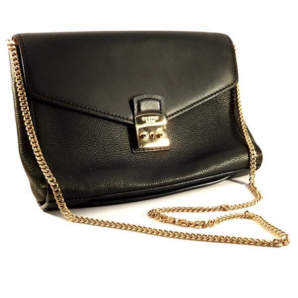 Oroton Black Clutch Handbag