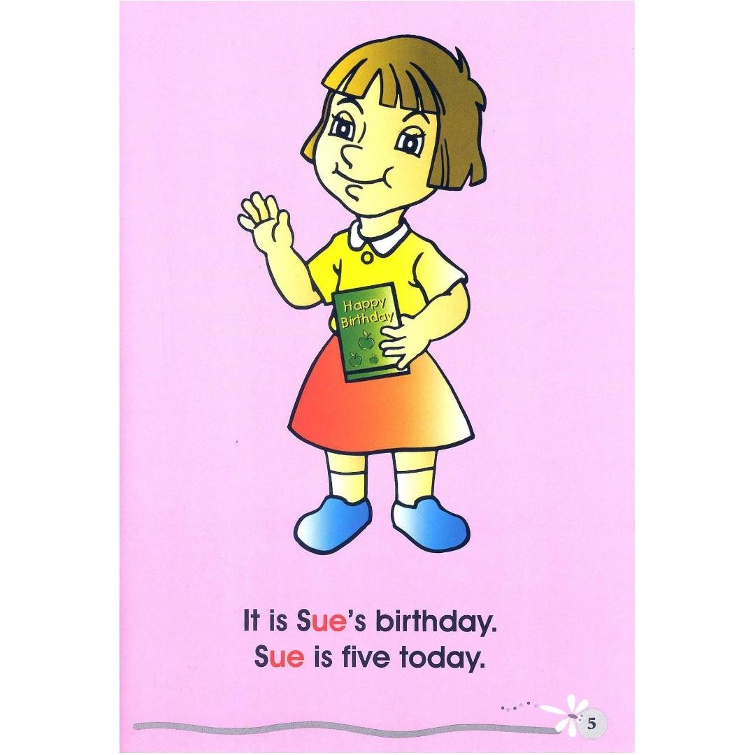Phonics in Reading Series 1: Book 10 - Sue's Birthday | Children's Book | Early Readers