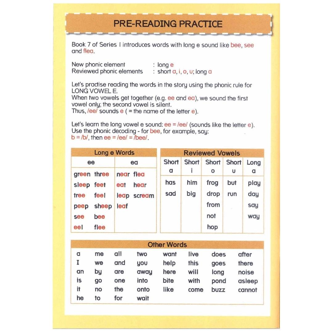 Phonics in Reading Series 1: Book 7 - Green Frog and the Bee | Children's Book | Early Readers
