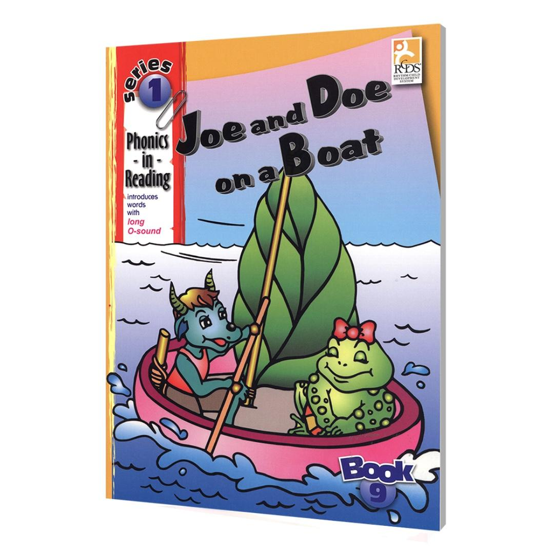 Phonics in Reading Series 1: Book 9 - Joe and Doe on a Boat | Children's Book | Early Readers