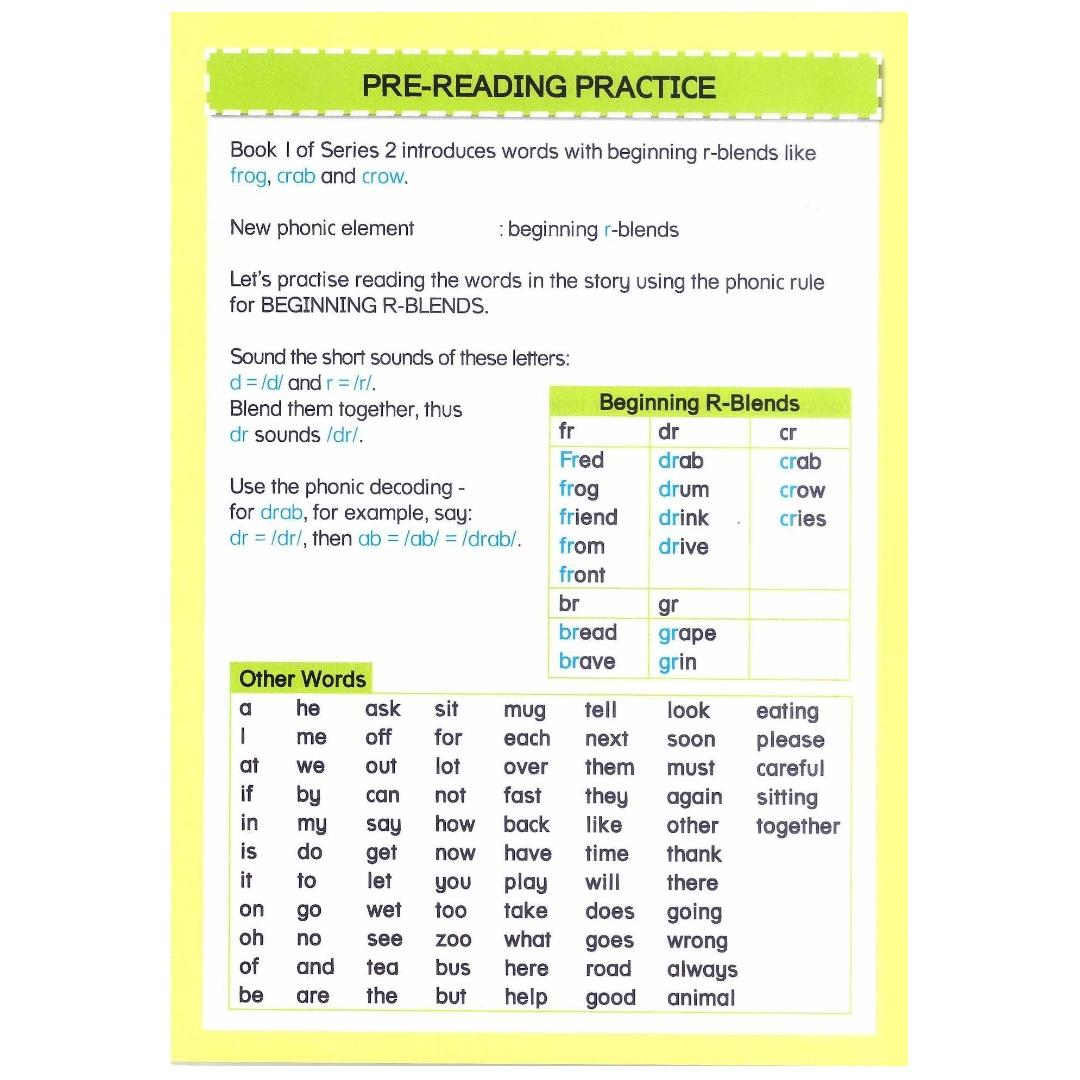 Phonics in Reading Series 2: Book 1 - Fred Frog and Drab Crab | Children's Book | Early Readers