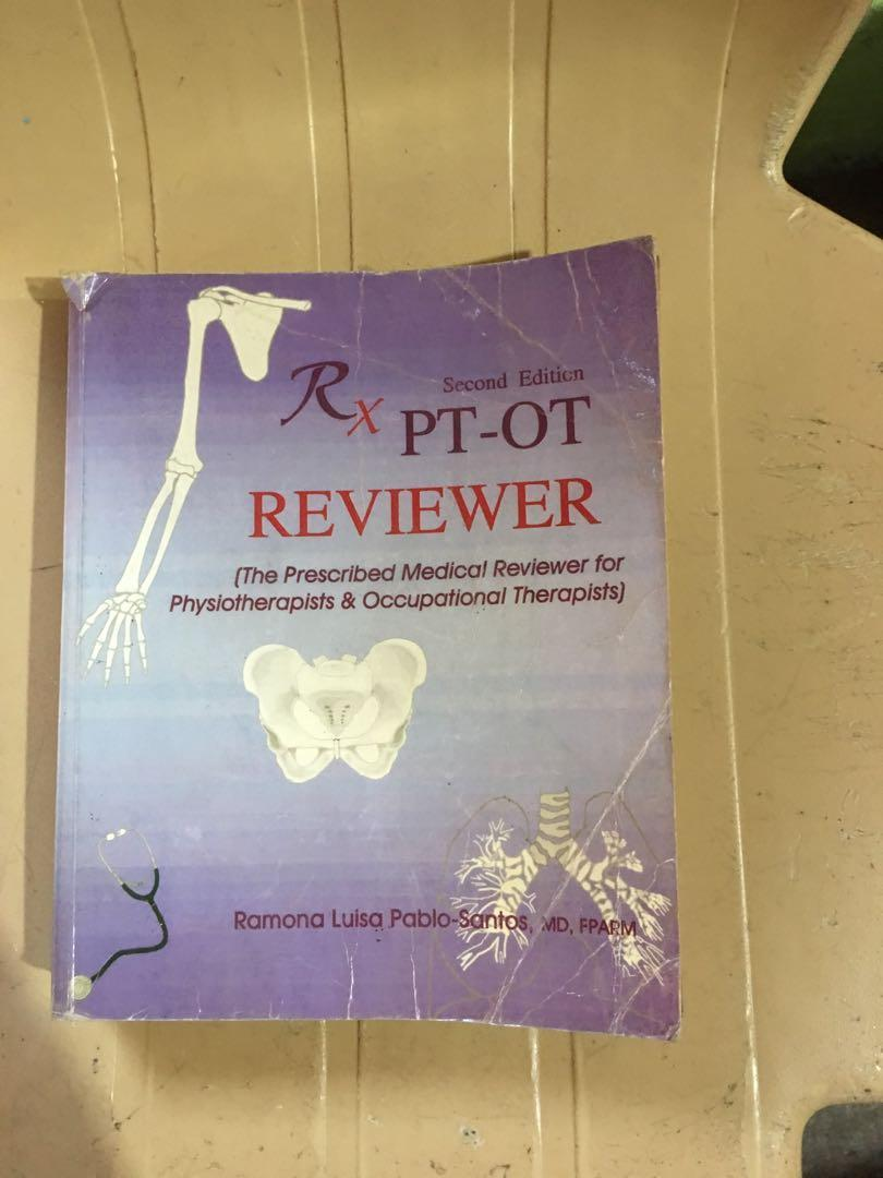 Rx PT-OT Reviewer (the prescribed medical reviewer for physiotherapists & occupational therapists)
