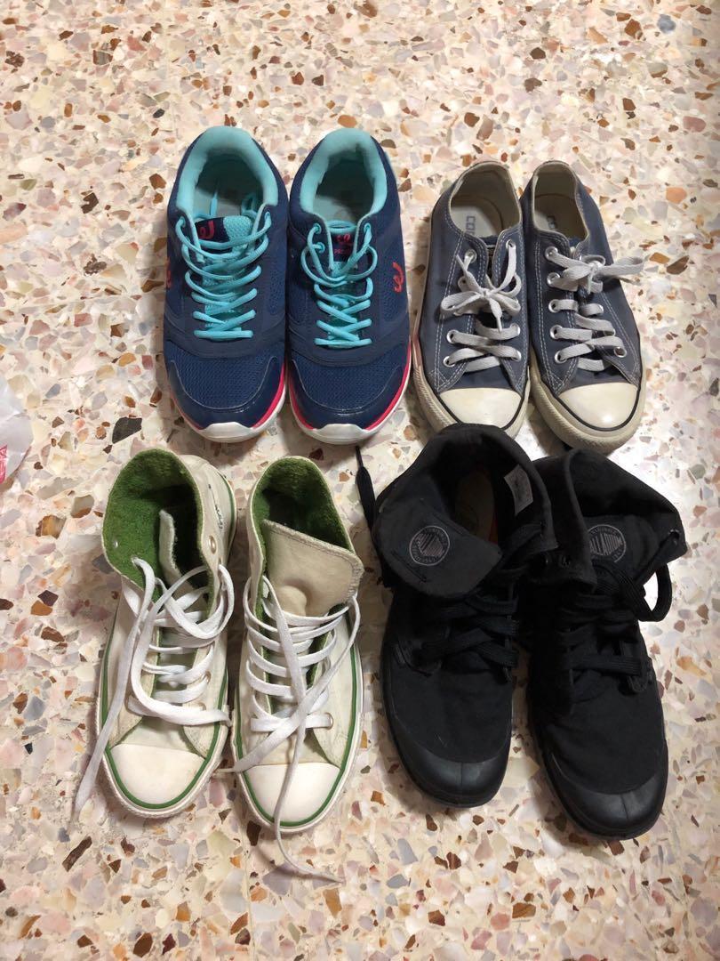 Shoes clearance (Converse, Palladium
