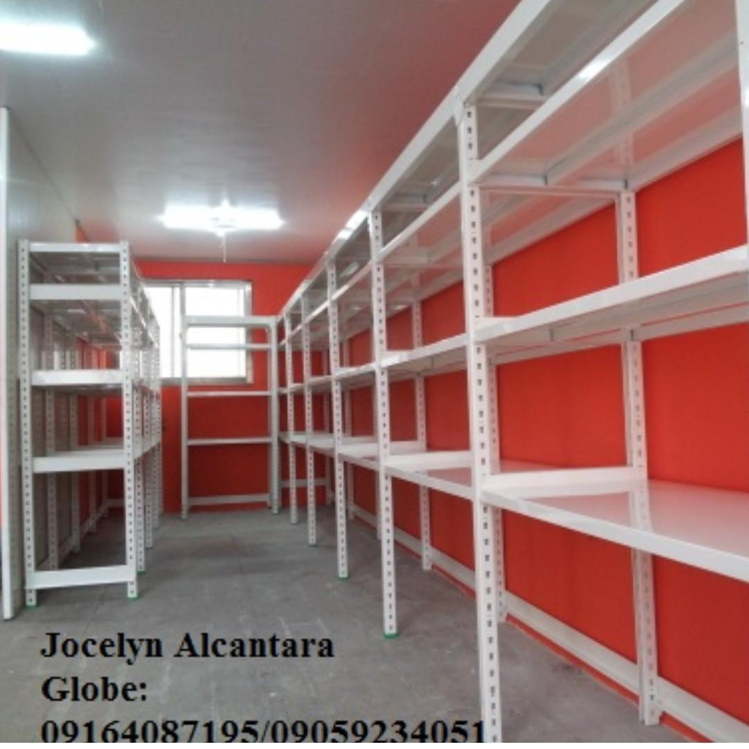 steel metal racks shelves