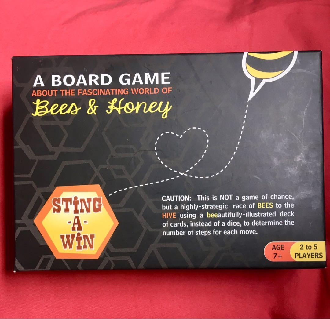 Sting-A-Win Board Game