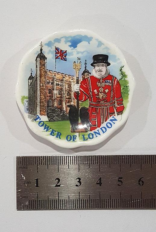 Tower of London decoration mini plate