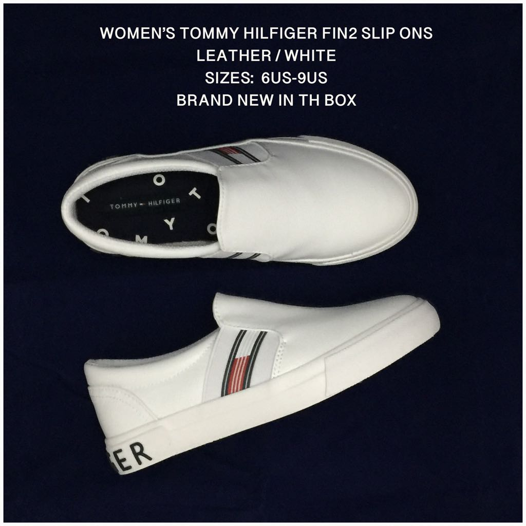 WOMEN'S TOMMY HILFIGER FIN 2 LEATHER