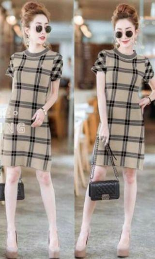 Burberry Knitted Dress