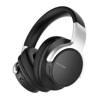 Mixcder E7 Active Noise Cancelling Headphones, Wireless Bluetooth Headphones Over Ear Headsets with Mic, Hi-Fi Deep Bass, Comfortable Protein Earpads, 20H Playtime for Travel Work TV PC Cellphone