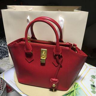 Authentic Original Samantha Thavasa Red Pink 2 Way Bag