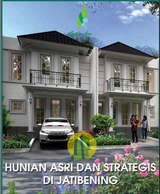 Cluster esklusif 2 lantai jati bening kota Bekasi